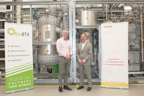 Carduso Capital participation 'BioBTX' and Teijin Aramid are looking at sustainable feedstock for super fiber.